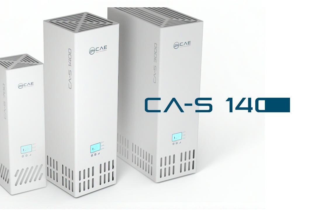 Volumenstrom / h = 100 - 1400 m³
