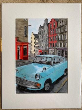 Ford Anglia, Victoria Street. Edinburgh