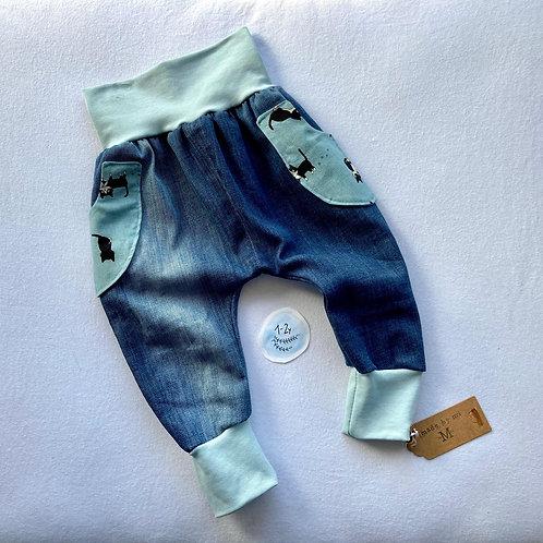 Kitten jeans (12-18months)