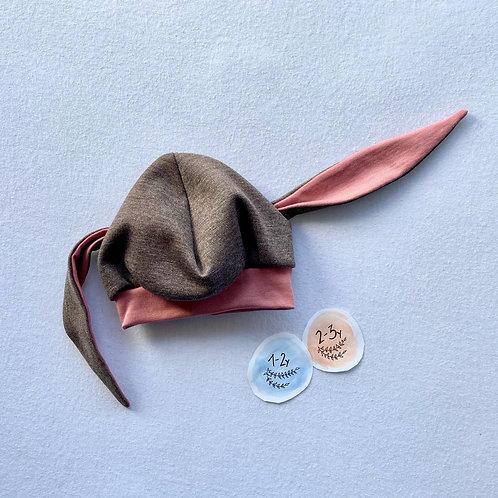 Bunny hat (1-3years)
