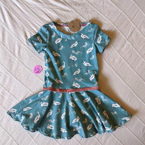 Crane twirling dress (3-4 years)
