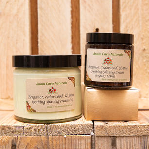 Bergamot, cedarwood and pine soothing sh