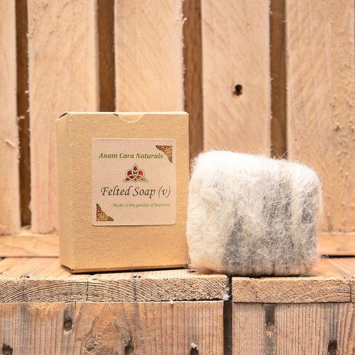 Felted Soap Bar (7.5 x 6.5 cm)