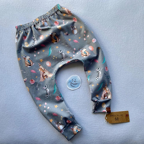 Organic Harem leggings (12-18 months)