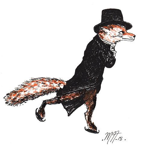 Fox in Skates