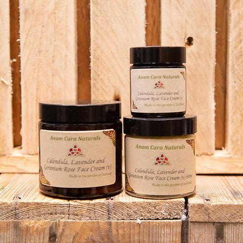 Calendula Lavender & Geranium Face Cream