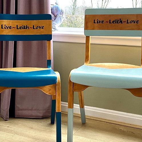Personalised Vintage School Chair