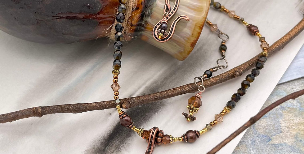 Pearl Warm Embrace Necklace