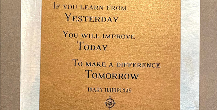 Quote Notes® If You Learn