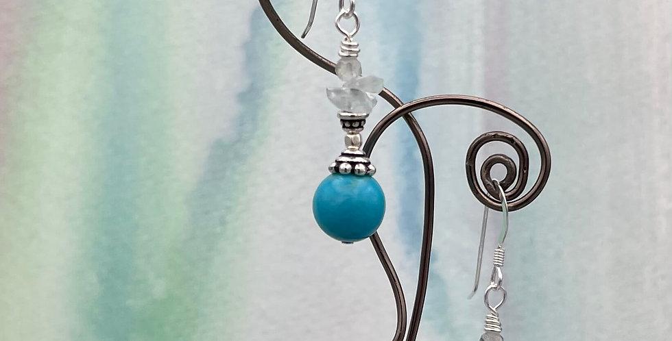 Turquoise Kaya Earrings