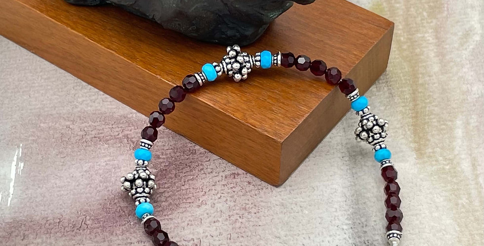 Turquoise Siam Ease Bracelet