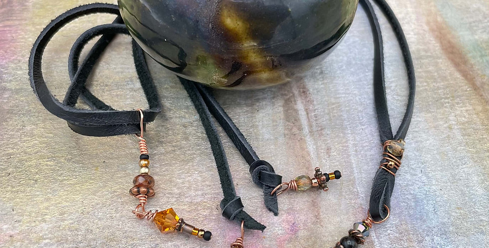 Pearl St. Benedict Copper Necklace