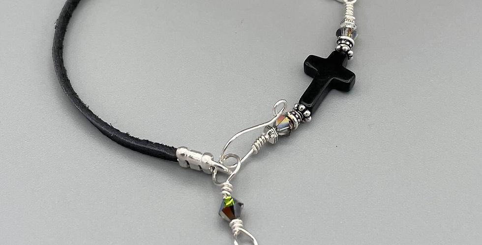 Onyx Across the Peaceful Path Bracelet