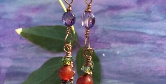 Carnelian Imaginative Earrings