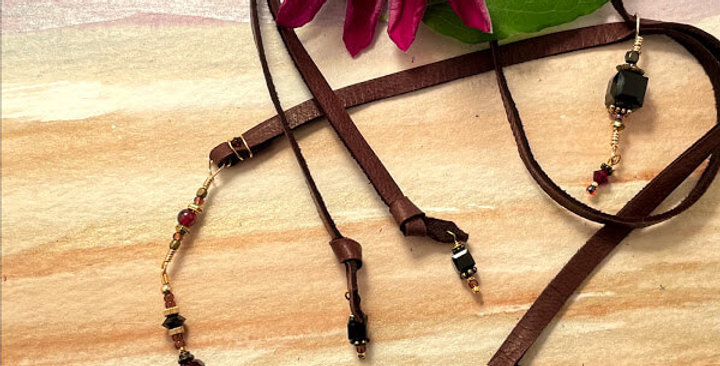 Garnet Protection Necklace