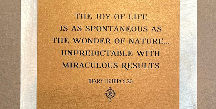 Quote Notes® The Joy Of Life