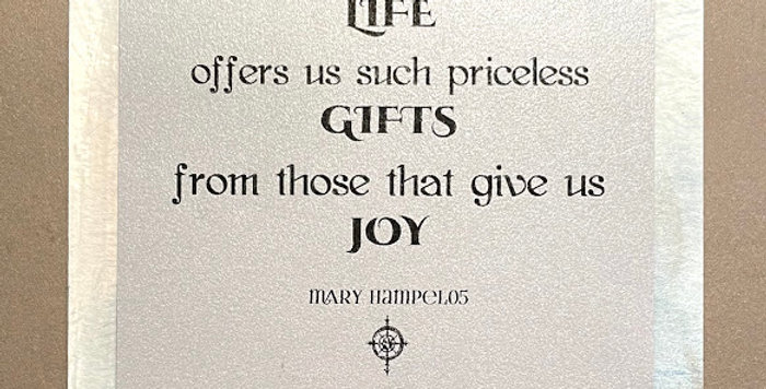 Quote Notes® Life Offers Us