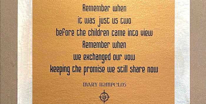 Quote Notes® Remember When
