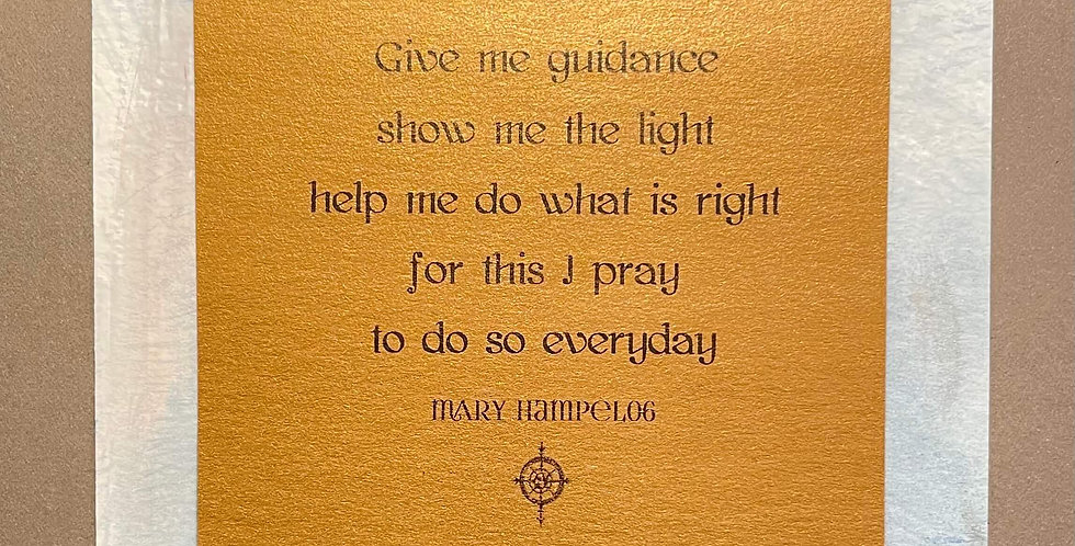 Quote Notes® Give Me Guidance