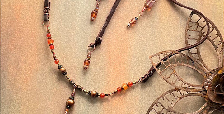 Carnelian Courageous Necklace