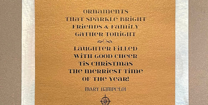 Quote Notes® Ornaments That Sparkle Bright