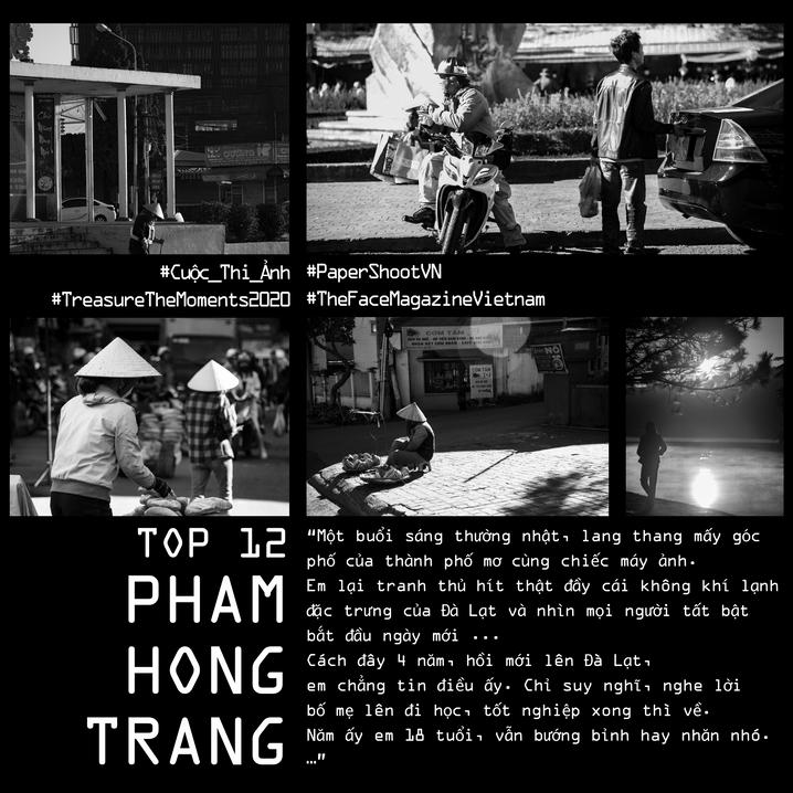 PHAMHONGTRANG | #TreasureTheMoments2020