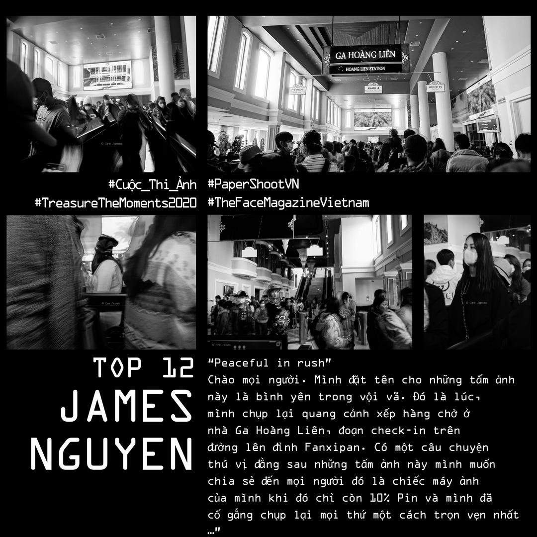 JAMES NGUYEN  #TreasureTheMoments2020