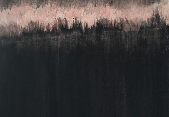 Tempura sur toile