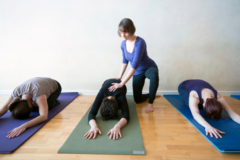 Gentle Yoga in the Studio