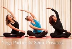 Semi private Yoga Party
