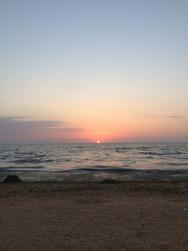 Рассвет на море