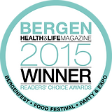 Voted Best in Bergen 2015 by Bergen Health and Life Magazine