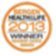 Voted Best in Bergen 2013 by Bergen Health and Life Magazine