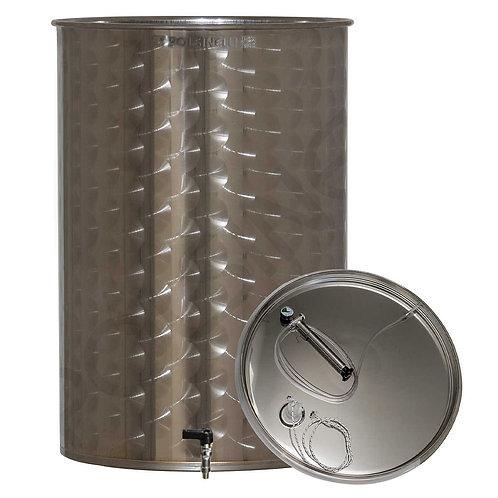 50 L rustfritt stål vintank med luftfloat