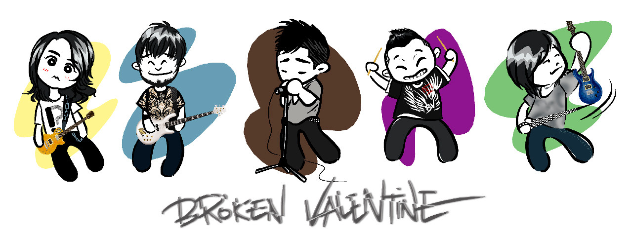 """""""Broken Valentine"""" Characature"""