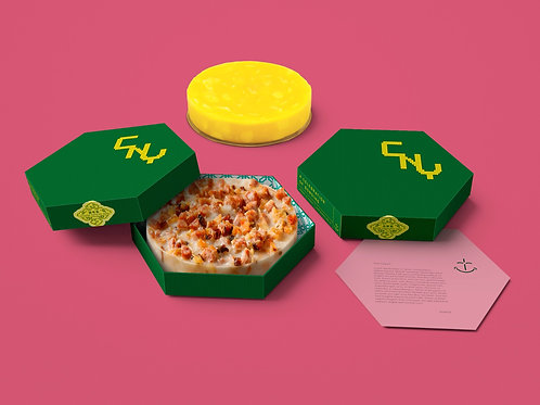 Traditional Chinese Radish Cake