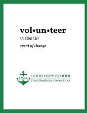 Recruitment of Volunteers for Student Programmes 2021-22