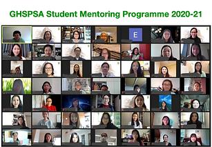 GHSPSA Student Mentorship Programme 2020-21 Kicked Off!