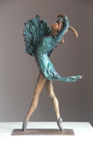 Bleu ballerina
