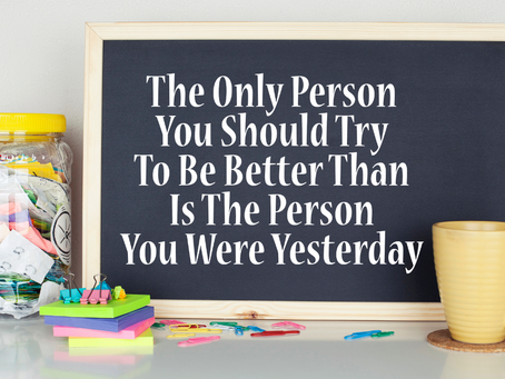 A journey of self-improvement