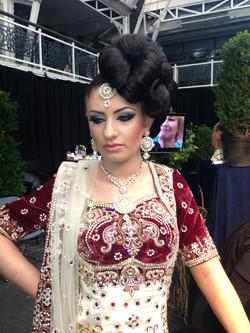 ArtDeco makeup expo exhibition london. creating a contemporary asian bride_edite