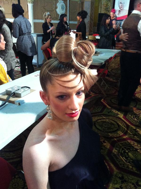 Winner of creative updo at the national hair federation Blackpool1_edited.JPG