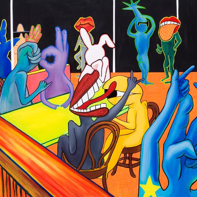 식당 혹은 카페에서(At Restaurant of