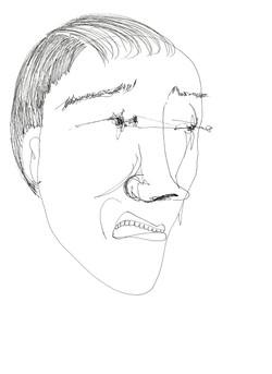 프린트 얼굴2