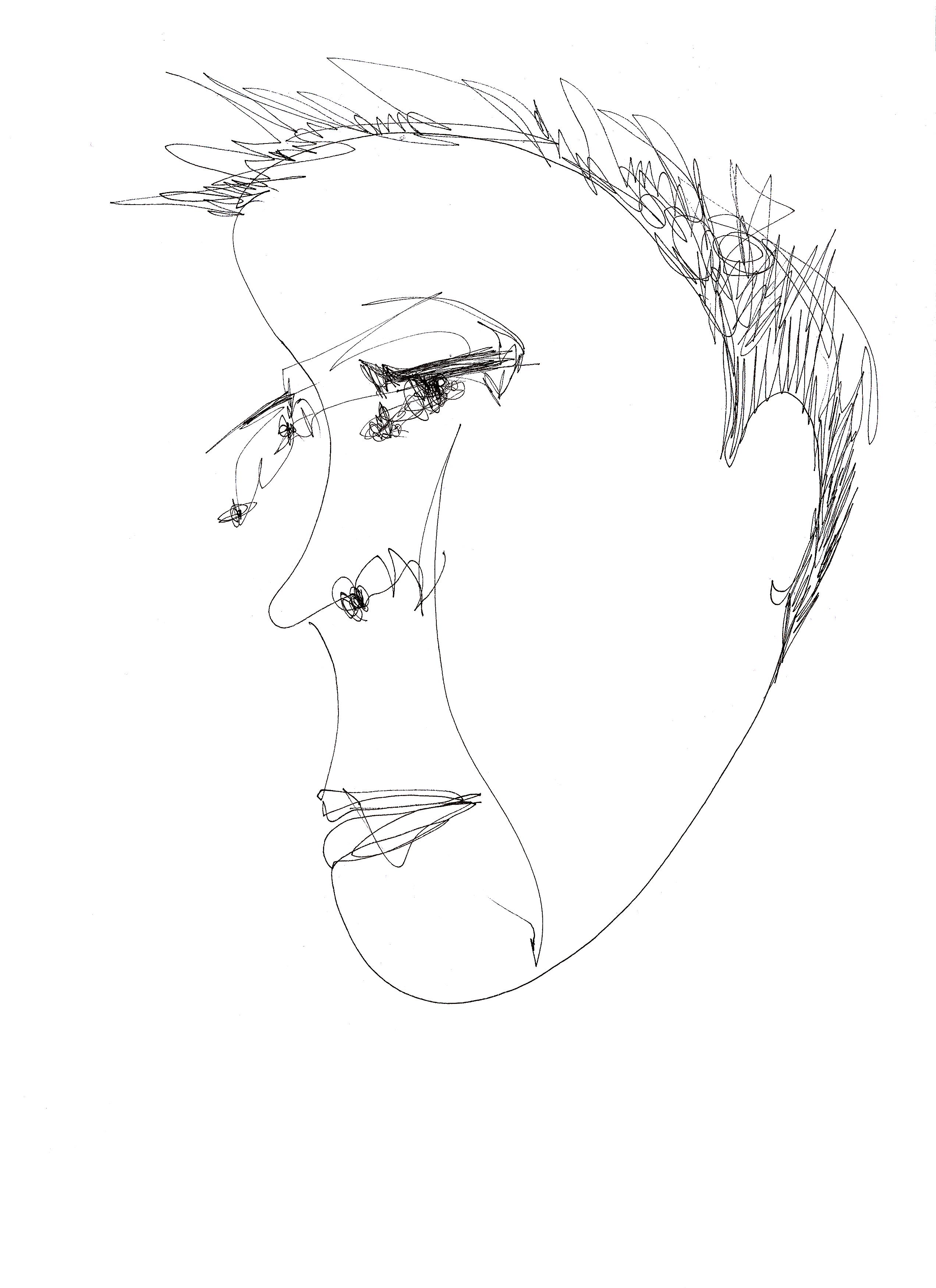 프린트 얼굴1