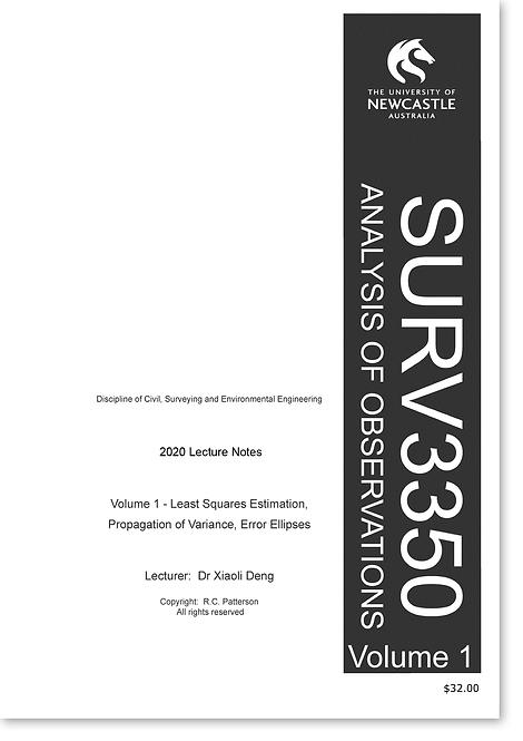 SURV3350 Vol.1