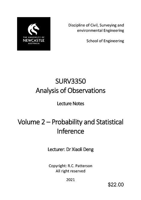 SURV3350 - Vol 2