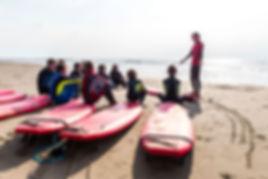 surfen met school sufschool texel