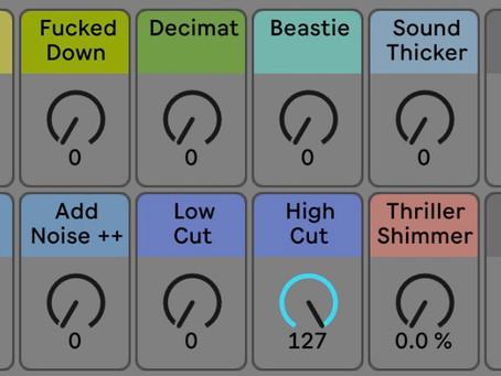 Nouveau rack d'effets audio pour Live 11 !