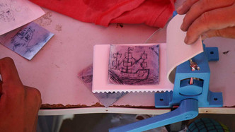 Printmaking in Tarrafal (1/3)